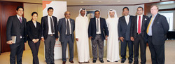 Dubai Chamber of Commerce officials