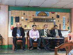 BSICC Press Meet at Bangalore