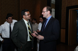 With Mr Mike Nithavrianakis