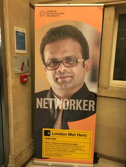 London Met Hero Campaign