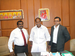 Pondicherry Chief Minister N. R