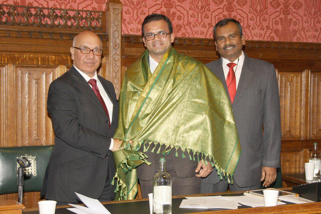 Felicitated at UK Parliament