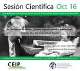 Invitación a nuestra sesión científica de octubre 2016