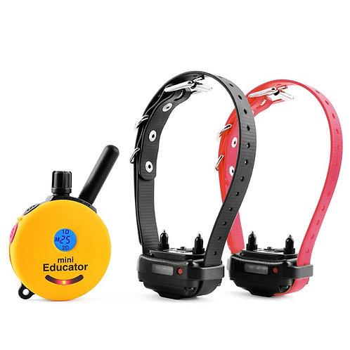 ET-302 2 Dog Mini Educator E-Collar 1/2 Mile Remote Dog Trainer