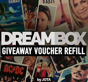 DREAMBOX GIVEAWAY VOUCHER REFILL