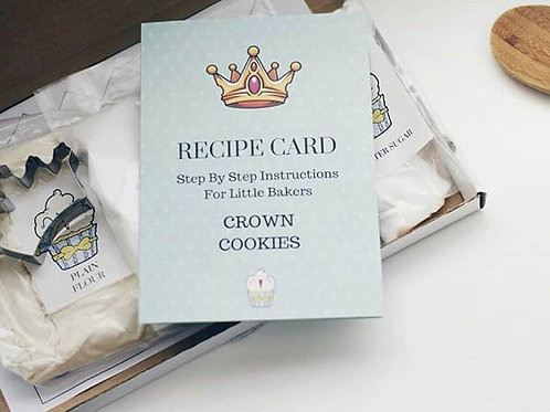 Crown Cookies Baking Kit