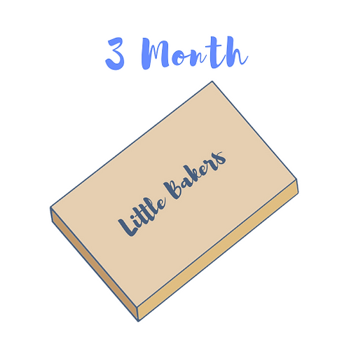 3 Month Little Bakers Club Prepay Subscription