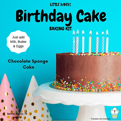 Celebration Cake Baking Kit - Chocolate