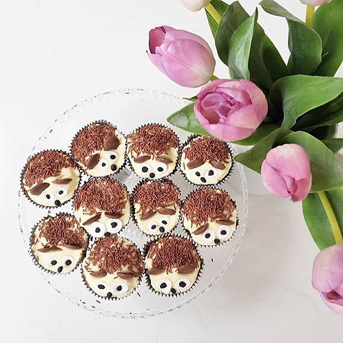 Hedgehog Banana Cupcake Baking Kit