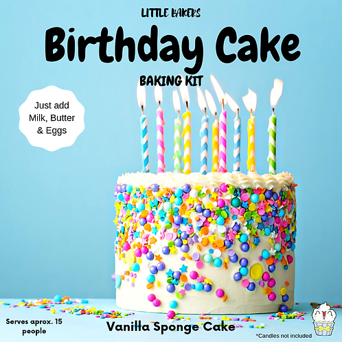 Celebration Cake Baking Kit -Vanilla
