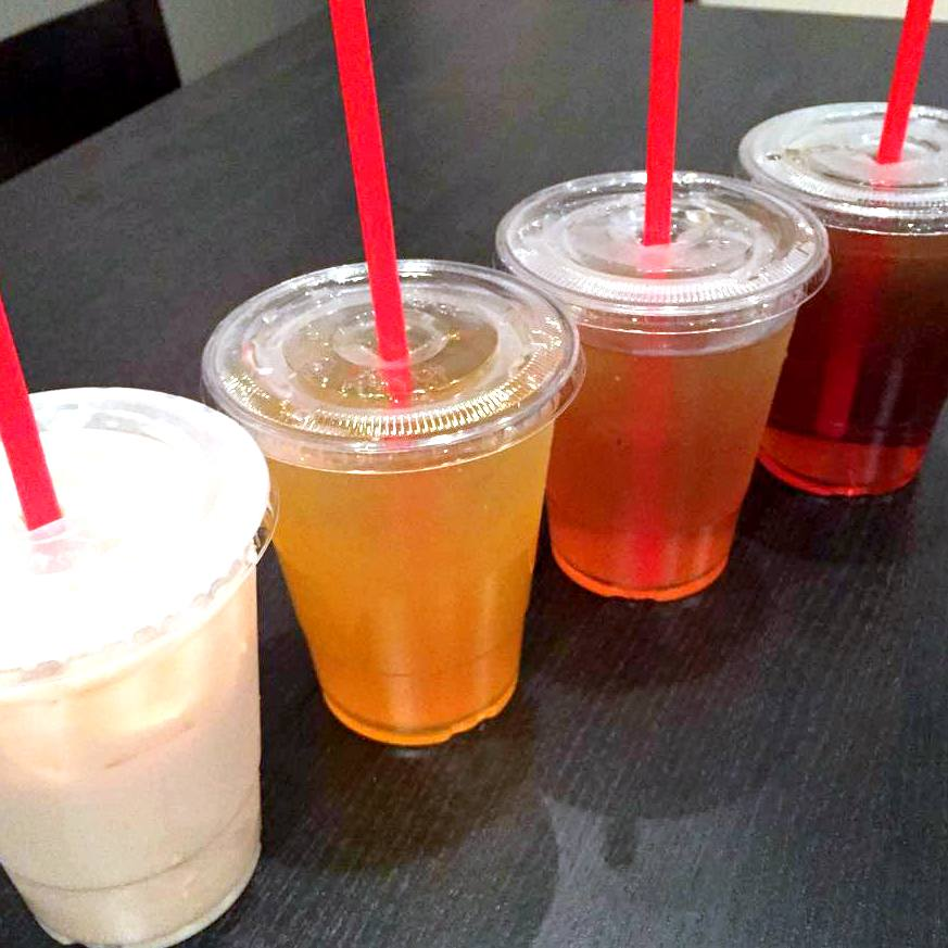 A sampling of our boba