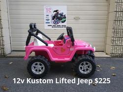 12v Kustom Lifted Jeep