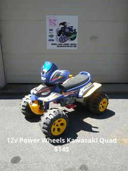 12v Power Wheels Kawasaki