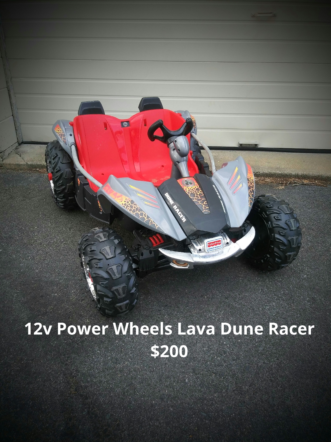 12v Power Wheels Lava Dune Racer