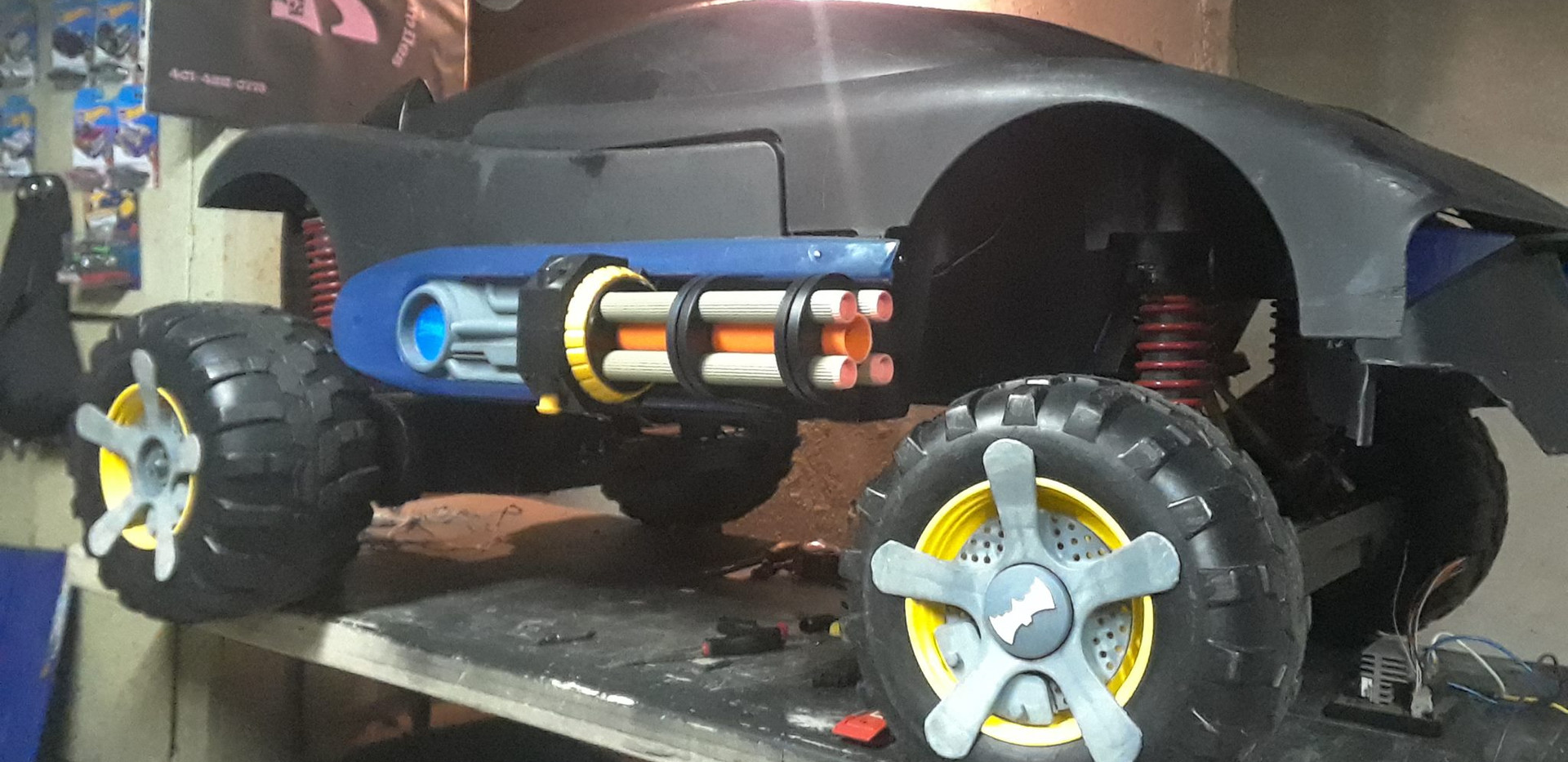Custom Batmobile
