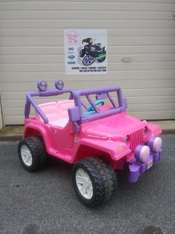 12v Power Wheels Pink Jeep