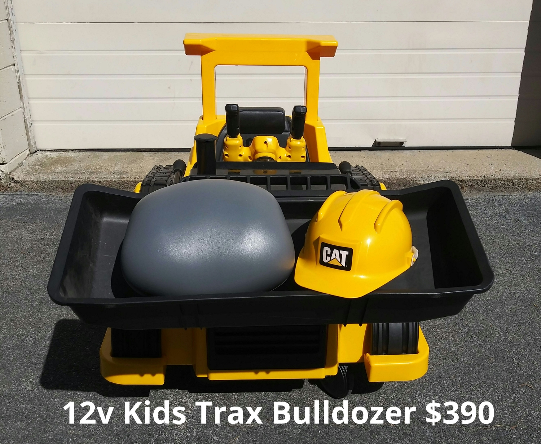 12v Kids Trax Bulldozer