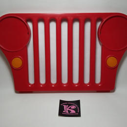73233-9809 Grill Jeep 1990 red