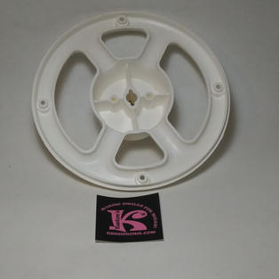 Steering Wheel Back White