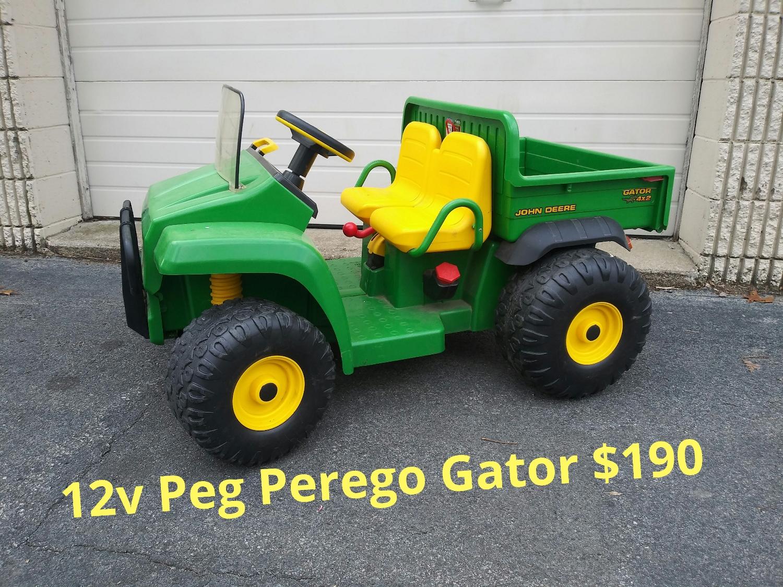 12v Peg Perego Gator