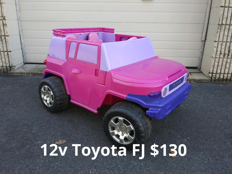 12v Toyota FJ