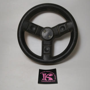 74440-2379 Steering Wheel Black