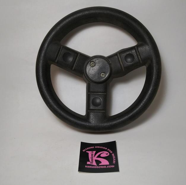 74440-2379 Steering Wheel Black