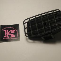 KC Headlight with grill rectangular (new)