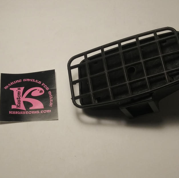 KC Headlight with grill rectangular (new)