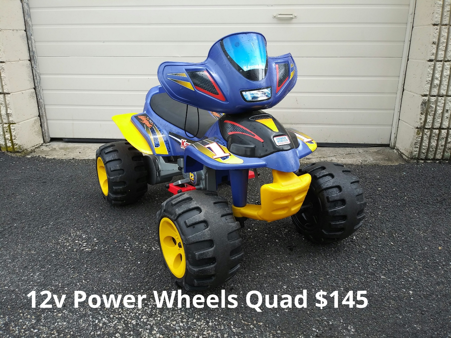 12v Power Wheels Quad