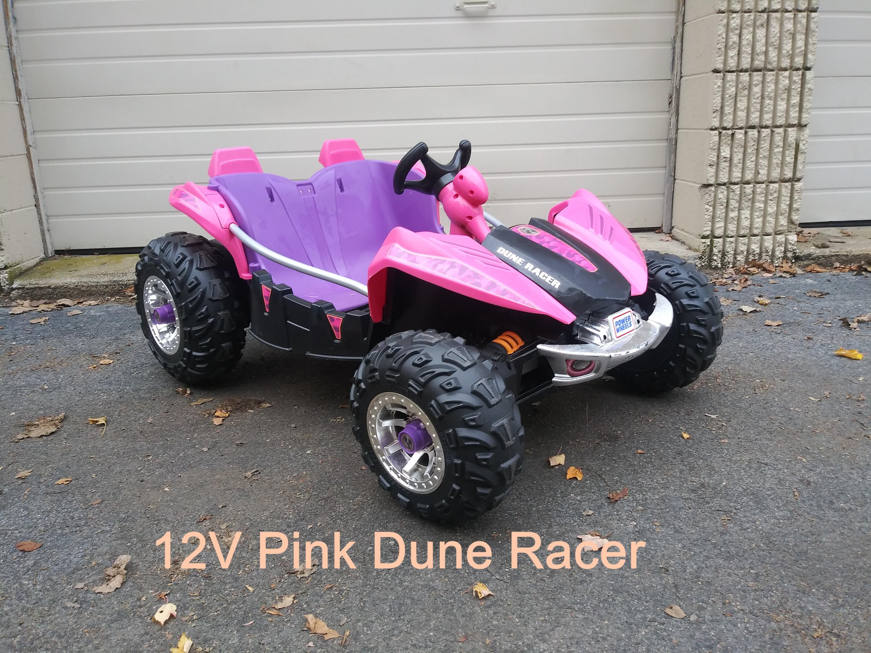 12v Pink PW Dune Racer