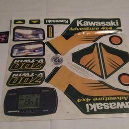 B9785-0310 Kawasaki Decals