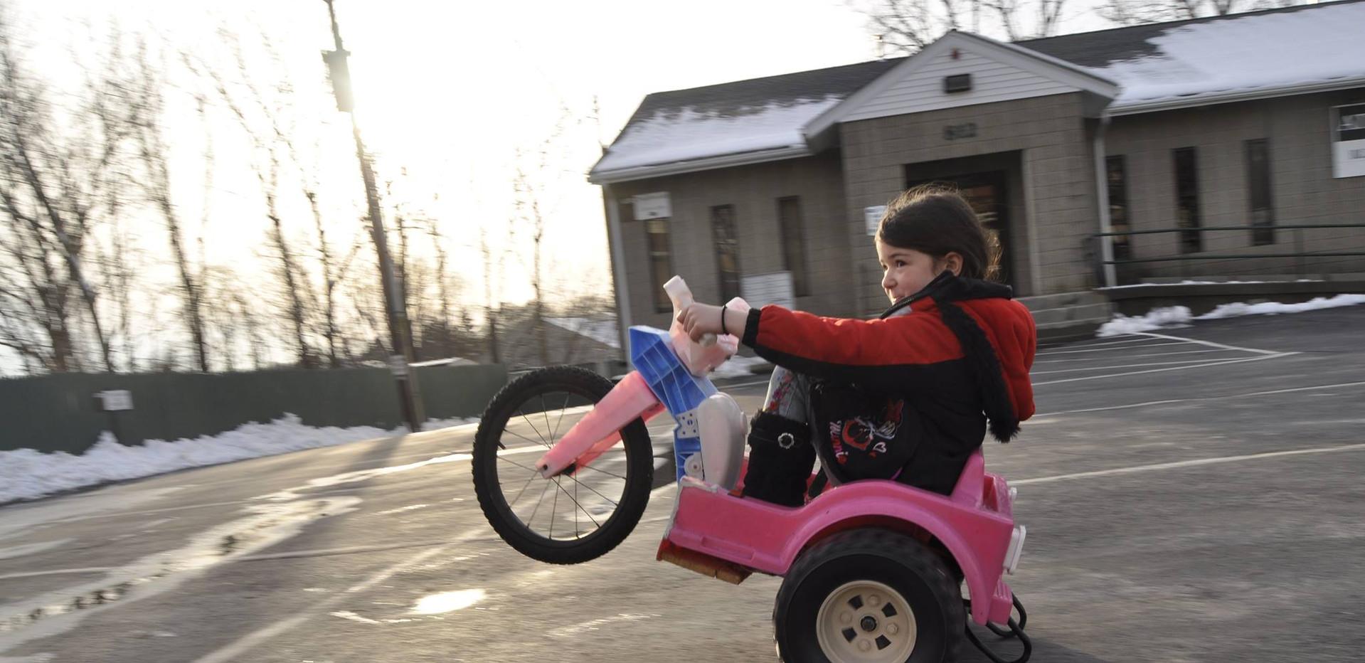 Wheelie Trike