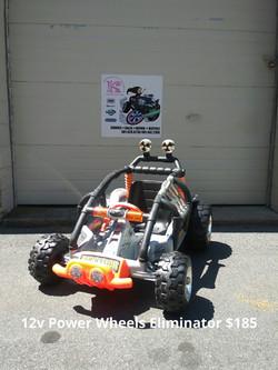 12v Power Wheels Eliminator
