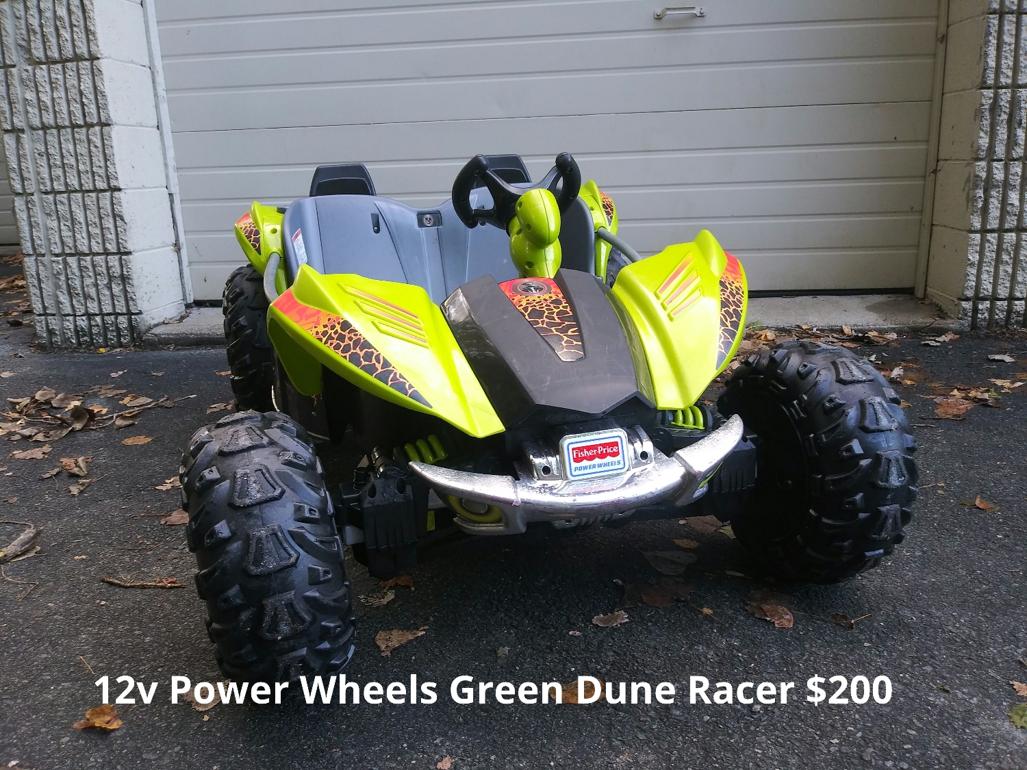 12v Green Power Wheels Dune Racer