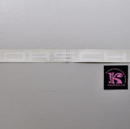 76822-0340. Decal, Windsheild, Porsche 911 Turbo 89
