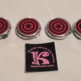 Wheel Center Caps, Avengers Jeep, Dynacraft