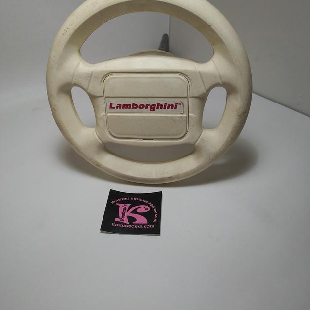 Lamborgini Steering Wheel with rod