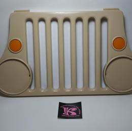 73233-9809 Grill jeep 1990 tan