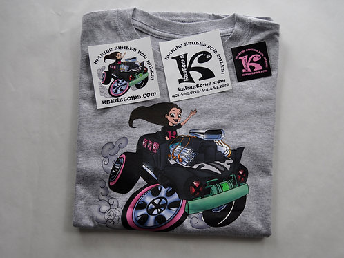 K's Kustom's T shirt and decals package