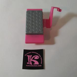Foot Pedal Mustang, Pink