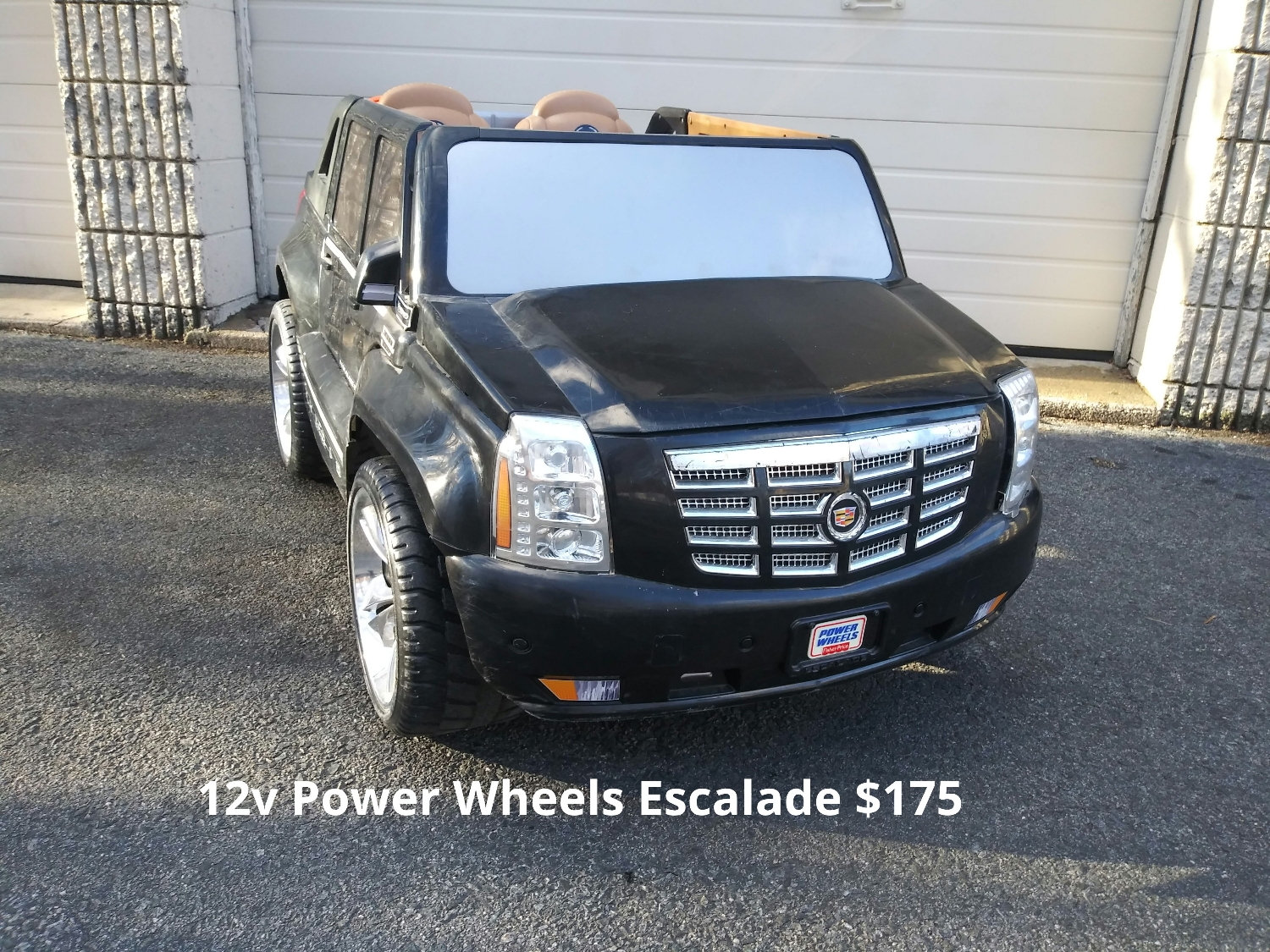 12v Power Wheels Escalade