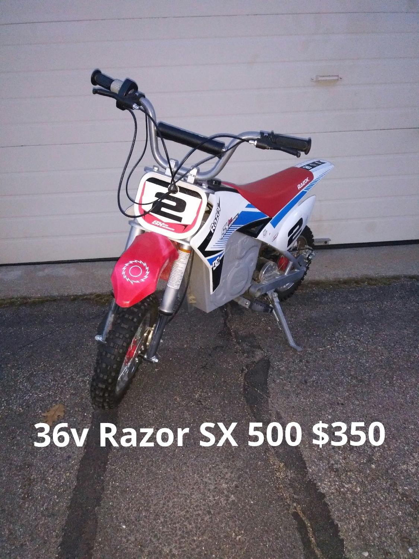 36v Razor SX 500