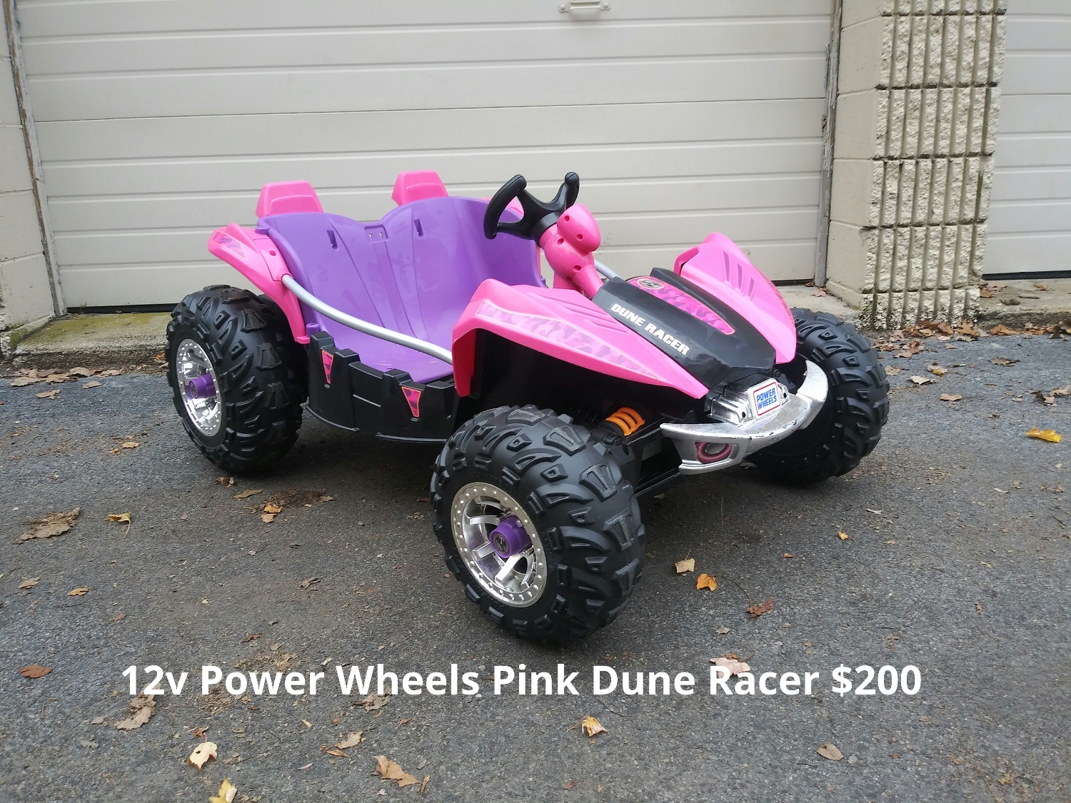 12v Power Wheels Pink Dune Racer
