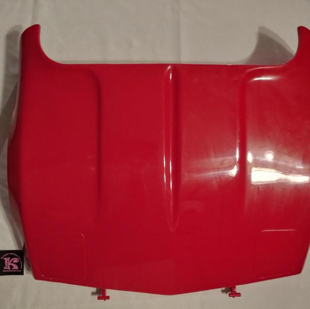 80031-0015 Hood Red Corvette