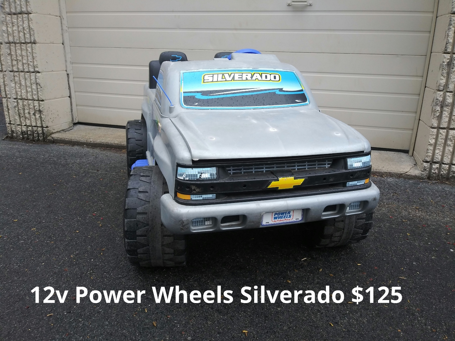 12v Power Wheels Silverado