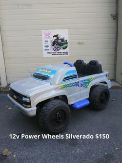 12v Power Wheels Silverado