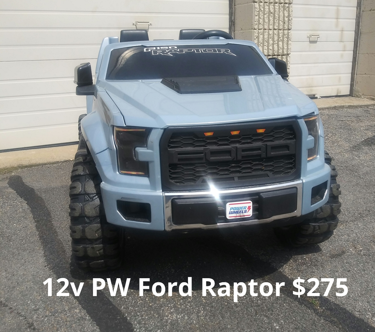 12v Power Wheels Ford Raptor