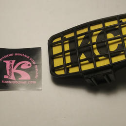 KC Light with Logo & Grill Rectangular (used)