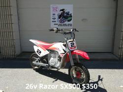 36v Razor SX500